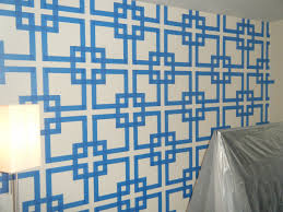 Paint Designs The Wall And Tape On Pinterest