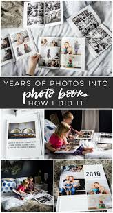 I LOVE this idea of family photo year books- so practical and these tips to