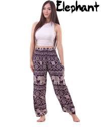 Pants In Elephant Pants In Purple