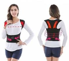 Image is loading Men-Women-Adjustable-Posture-Corrector-Back-Support -Shoulder- Men / Women Adjustable Posture Corrector Back Support Shoulder