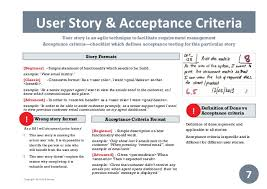 User Story Requirements Template Practical Guide To Scrum