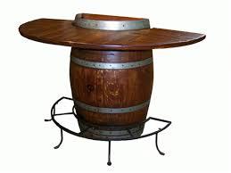 wine barrell furniture. Plain Barrell Half Wine Barrel Bar Table  Furniture For Barrell L