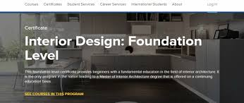 interior design courses