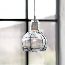 modern loft cord pendant lights clear glass lampshade celling lights with e27 retro edison bulb indoor