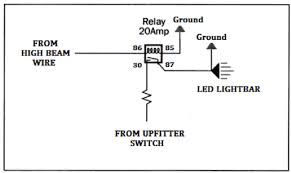 led lights into high beam switch wiring diagram help diesel how to wire led light bar without relay at Led Lights Wiring Diagram