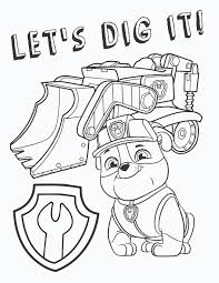 Paw Patrol Coloring Pages Free Party Ideas Activities By Throughout