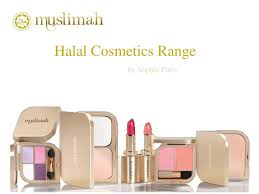 a halal cosmetics range that is easily available now it is certified as being halal it is one of the main halal s from sophie paris msia
