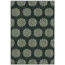 delilah bay blue starch 3 ft x 4 ft ter rug