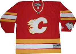Reebok Throwback Jersey Size Chart Details About Calgary Flames Reebok Replica Throwback 550 Jersey New With Tags Large