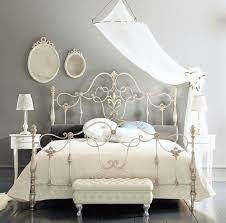 white wrought iron bed. Beautiful Wrought Fancy Wrought Iron Beds With Silver Color Rod Beds White Metal  Headboard Inside Bed