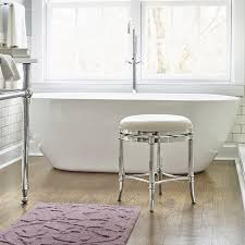 the bathroom vanity stools emerson golden bronze vanity stool with for vanity benches for bathroom designs