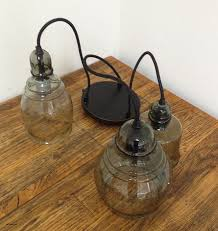 paxton glass 8 light pendant new pottery barn hundi 3 light semi flush mount lantern in