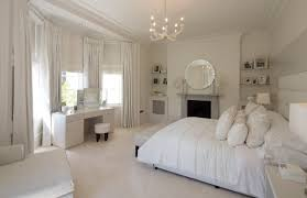 White Bedrooms Room All White Bedroom Home Interior Design Simple Excellent At