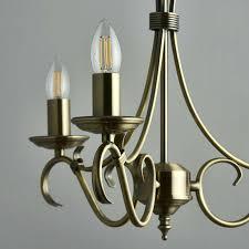 3 candle chandelier portfolio light vintage crystal