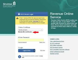 Digital Certificate Saving A Ros Digital Certificate On To Your Computer Brightpay