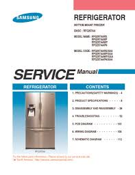 samsung refrigerator service manual rfgaa applianceassistant samsung refrigerator rfg297aa repair manual
