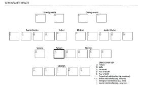 Template Word Basic Free Genogram Online Maker Templates Detail For