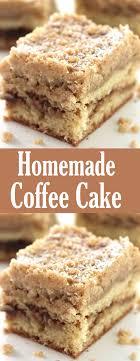 Homemade coffee cake with crumb topping (simple to make. Homemade Coffee Cake Gaya Recipes