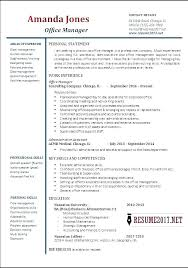 Office Manager Sample Resume Cool Office Manager Resume Sample Combined With Office Manager Resume