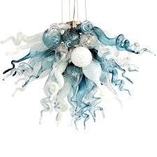 viz glass chandelier blown artist