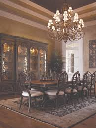Design Of Dining Room The D501 Hendler Dining Room Collection Has A Rich Contemporary