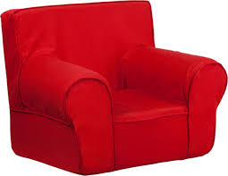 ff small kids chair red