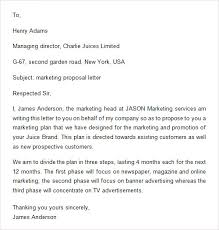 Sample Proposal 10 Examples Format