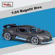 Find bugatti divo 1/24 from a vast selection of diecast & toy vehicles. Maisto Collection 1 24 Scale Bugatti Divo Diecast Alloy Car Model New In Box Ebay
