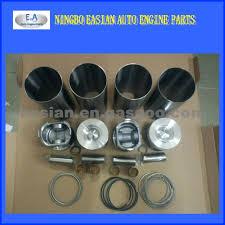 TOYOTA 2R Cylinder Liner Kit, Forklift Engine Parts, Piston #13101 ...