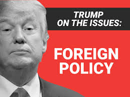 donald trump on foreign policy issues business insider