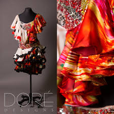 Marvelous Two Piece Hurricane Mambo Dress