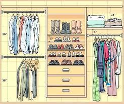 Master Bedroom Closet Dimensions Master Closet Size Best Closet