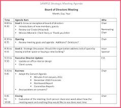 Weekly Meeting Schedule Template Operations Agenda Hotel