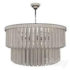3d models ceiling light bella figura two tier drum chandelier vray corona