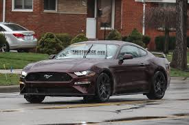 2018 ford mustang ecoboost. perfect 2018 2018 mustang royal crimson front throughout ford mustang ecoboost o