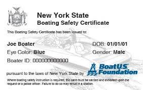 Course New Boatus Boating Safety Foundation York
