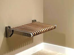 fold up shower seat wall mounted fold up seat inspirational wall mounted folding teak shower bench