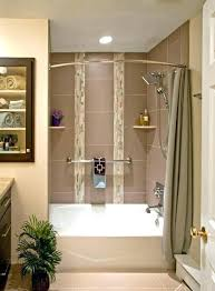hanging shower curtain rod installation how install fine good installing curved to ins