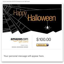 Halloween Gift Cards Amazon Gift Card E Mail Happy Halloween Spider