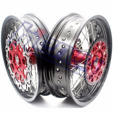 3 5 4 25 17 supermoto motard rims wheels set for honda xr400r 1996