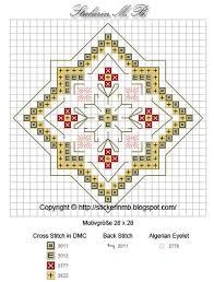 Free Biscornu Charts Five Free Miniature Needlework Patterns Cross Stitch