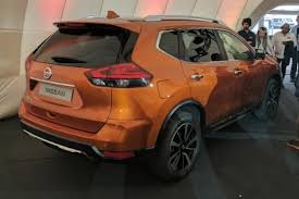 2018 nissan x trail. modren 2018 nissan xtrail  rear reveal on 2018 nissan x trail e