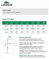 35 Rare Lacoste Shoe Size Guide