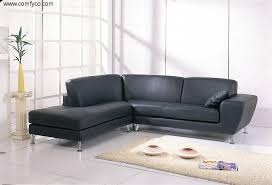 Sectional Sofas In Living Rooms Small Sectional Sofa Black Microfiber Small Sectional Sofa With