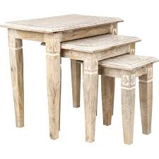 nesting furniture. Mehrab Set Of 3 Nesting Tables Furniture M