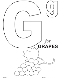 Printables Alphabet G Coloring Sheets | Colouring activity ...