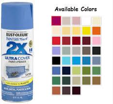 Rustoleum 2x Spray Paint Colors Chart Www
