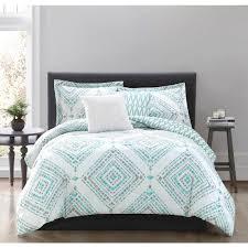teal queen comforter. Studio 17 Jericho Teal 5-Piece Full/Queen Comforter Set Queen The Home Depot