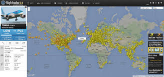 flightradar  real time aircraft tracking  flight tracking