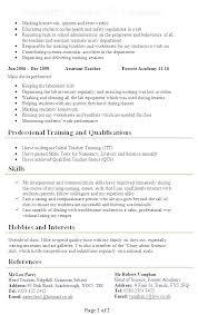 Resume Template For Teachers Awesome Sample Teacher Resume Assistant Preschool Teaching Cv Template Word